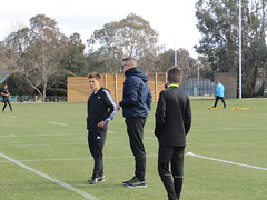 Kanga Cup Referee Youth Academy (AusRef) Tags: sunday practicaltraining ais