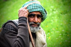 "A ""Gaddi"" - Also known as local shepherds in Kashmir (Eddie.Rasheed) Tags: kashmir gaddi shepherd incredibleindia people portrait portraitphotography backpacker nikonphotography nikon"