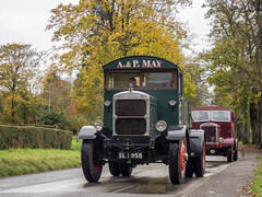 S.O.D.E.M Road Run 2017 (Ben Matthews1992) Tags: sodem road run 2017 autumn gloucestershire england britain old vintage classic historic preserved preservation vehicle transport scammell chain drive sl9958 may 20mu hdw471