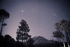 Non existing light (lunacornata) Tags: mountains stars night landscape volcano mexico nature sky long exposure