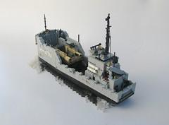 Desert Sea H - 474 (W. Navarre) Tags: lego boat ship wwii battle sea desert
