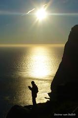 Silhouette (Desireevo) Tags: nature northern norway norge noorwegen desireevanoeffelt outdoors sun sunlight sunshine sunrays sunset sunbeams silhouette landscape landschaft landscapes sea island islands mountain mountains