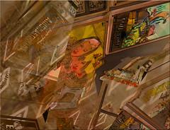 Carteles (seguicollar) Tags: imagencreativa photomanipulación art arte artecreativo artedigital virginiaseguí panosabotaje panovisión carteles anuncios máquina coser feria almoneda