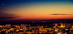 Brest NightLive (erwancalves) Tags: brest night sunset groupenuagesetciel