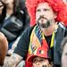 Fans de foot - Coupe du Monde 2018 - Durant le match Belgique - France