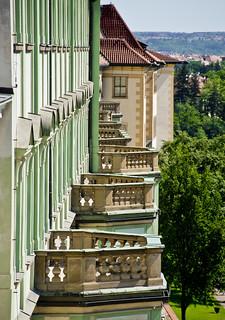 Balcons del Palau Rosenberg / Rosenberg balconies
