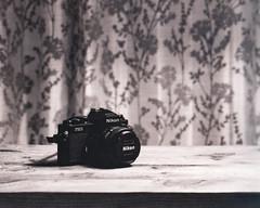 Nikon FM2 (Robrobrobert123) Tags: large format photography 4x5 still life nikon fm2 blackandwhite