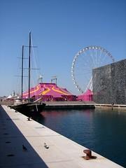 Marseille (Maxofmars) Tags: marseille marsella marsiglia france francia europe europa provence provencia port puerto harbour porto bateau boat cirque circus musée quai