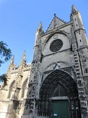 West portal, Basilique Saint-Michel, Bordeaux, France (Paul McClure DC) Tags: bordeaux france gironde july2017 nouvelleaquitaine historic architecture sculpture church