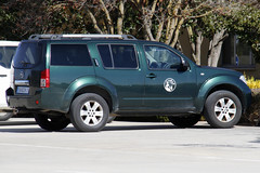 NISSAN PATHFINDER  Ala 14 (Martin J. Gallego. Siempre enredando) Tags: ala14 nissan pathfinder nissanpathfinder ejercitodelaire car cars coche 4x4