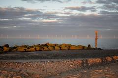Great Yarmouth Beaches (Laura Cooper94) Tags: d3300 nikon summer evening glow orange sky rocks rock landscape coast britain england sand sea beach sunset sun