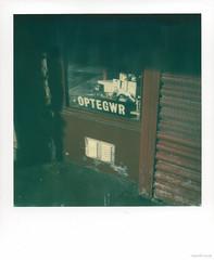 Optegwr (Roj) Tags: originalphotographers photographersontumblr sx70 sourcerojsmithtumblrcom llandudno analog analogue impossibleproject filmisnotdead optician squareframe makerealphotos polaroid film instantphotography gogleddcymru northwales uk