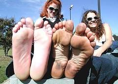 1013538_1752205181676559_4654501071455733973_n (paulswentkowski1983) Tags: dirty feet soles female pitch black street filthy fithy