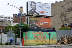 duke riley (Luna Park) Tags: ny nyc newyork brooklyn streetart lunapark mural dukeriley billboard civility passiton