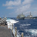 USS Lake Champlain (CG 57) Conducts Replenishment-at-Sea with HMAS Success (OR 304)