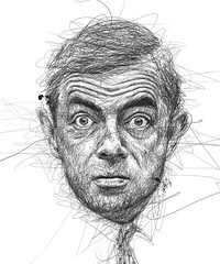 scribble portraits (5minutearts) Tags: art drawing scribble painting sketch illustration