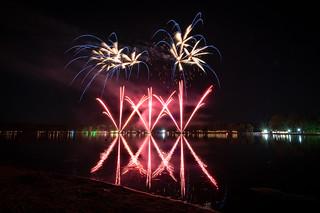 Feuerwerk bei Klassik am See