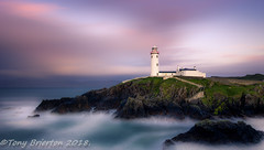 Fanad Lighthouse. (Tony Brierton) Tags: 14618 codonegal coast fanadlighthouse lighthouse north rocks sea wildatlanticway countydonegal ireland