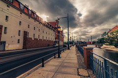 Wroclaw (Vagelis Pikoulas) Tags: wroclaw europe poland travel holidays street sunset sunshine sunburst view landscape city cityscape urban road canon 6d tokina 1628mm may spring 2018