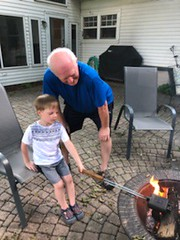 "Paul Makes Grilled Cheese with Grandpa at Cousins Camp • <a style=""font-size:0.8em;"" href=""http://www.flickr.com/photos/109120354@N07/42226878945/"" target=""_blank"">View on Flickr</a>"