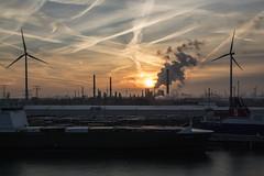Sunset (Dimormar!) Tags: zonsondergang sunset botlek europoort rozenburg citytrip york hull