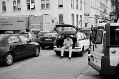 Taxi break (jamiethompson01) Tags: vis split croatia wedding june summer hot island old town tourist market fort beach sony a7 mk2 mkii zeiss carl 55mm 18f za dog cat cats tree church door rocks shells game thrones window black white colour people street documentary hats camera veg fish boats rope