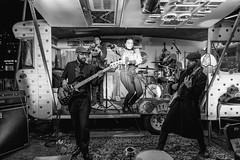 A Caravan Band (SemiXposed) Tags: band caravan night sony melbourne australia winter firelight guitar lights microphone drums music musicians