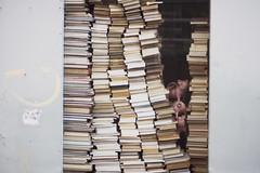 Paris No 48 (• CHRISTIAN •) Tags: paris france urbain urban librairie bookstore livres books cochon pig vitrine shopwindow 50mm f14