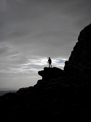 Exploring the World (marco_albcs) Tags: zaghouan mountains hiking stormy selfportrait motivational lonely solitude