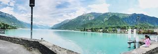 البحيرة الزرقاء .. #سويسرا