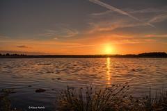 Sunset in the moor - 07071807 (Klaus Kehrls) Tags: landschaft natur sonnenuntergang moor himmelmoor sess spiegelung himmel