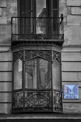 (352/18) Calle Mayor (Pablo Arias) Tags: pabloarias photoshop photomatix capturenxd españa arquitectura vidriera balcón edificio ventana madrid