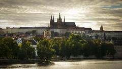 A postcard from Prague (rinogas) Tags: czechrepublic prague praga sunset cloud rinogas