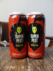 Super Pest Double IPA (knightbefore_99) Tags: beer cerveza pivo can craft tasty hops malt pair two local bc west coast bomber superpest ipa india pale ale double