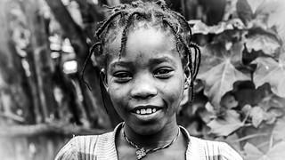 Niña en carretera, etnia Konso, Ethiopia (día 6)