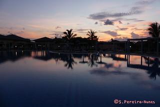 Hotel Pestana Cayo Coco, Pool Area on the sunset