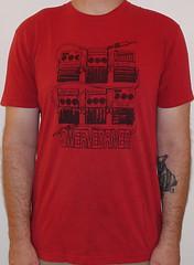 #3039A Swervedriver - Pedalboard (Minor Thread) Tags: minorthread tshirtwars tshirt shirt vintage rock concert tour merch red swervedriver pedals guitar shoegaze britpop