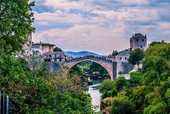 Stari Most | Mostar, BiH (OffTheRoadTravel) Tags: colorful vista view history river herzegovina ottoman mostar bosnia architecture bridge