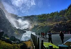 cascada de Kjosfossen (Carlos M. M.) Tags: norway noruega flamsbana cascada nature naturaleza agua water