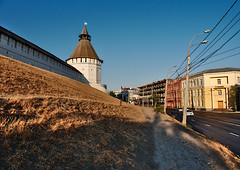 Epoch Alliance (DementyD) Tags: kremlin fortress wall tower street road architecture construction кремль крепость стена башня улица дорога архитектура astrakhan астрахань