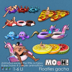 MOoH! Floaties gacha (Dalriada Delwood (MOoH!)) Tags: mooh gacha gatcha float pool floaties