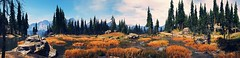 """""""Go where you feel most alive."""" (Xenolith3D) Tags: far cry 5 screenshot panorama atmospheric breathtaking landscape magical nature water mountain tree flower wood colorful sky forest grass animal hope county ubisoft"""