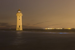 Perch Rock Lighthouse Bioluminescence (David Chennell - DavidC.Photography) Tags: wirral merseyside newbrighton wallasey perchrock lighthouse