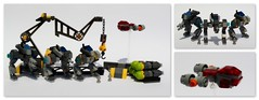 (peter-ray) Tags: lego giocattolo toys peter ray samsung nx2000 mecha space ship robot mobile suite exo mech hangar bomb missile