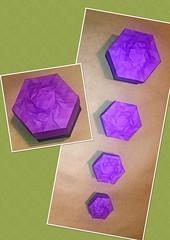 Matryoshka swirl tess box (mganans) Tags: origami tessellation box