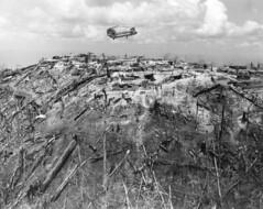Vietnam War (ghostanddark2003) Tags: destruction flying transportation damaged on the move aircraft dakto vnm