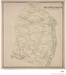 1866 map town of bethlehem (albany group archive) Tags: old albany ny vintage photos picture photo photograph history historic historical