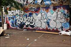 Deams / Rocky / Time (Alex Ellison) Tags: deams rocky time osv eastlondon urban graffiti graff boobs