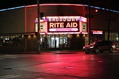 Broadway Theater/Rite Aid (joseph a) Tags: sign neonsign theater movietheater conversion revitalization drugstore pharmacy capitolhill seattle washingtonstate washington