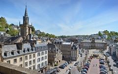 14MorlaixTownFromViaduct (geomappingunit) Tags: brittany 2018 fieldtrip geography viaduct morlaix townhall mairie